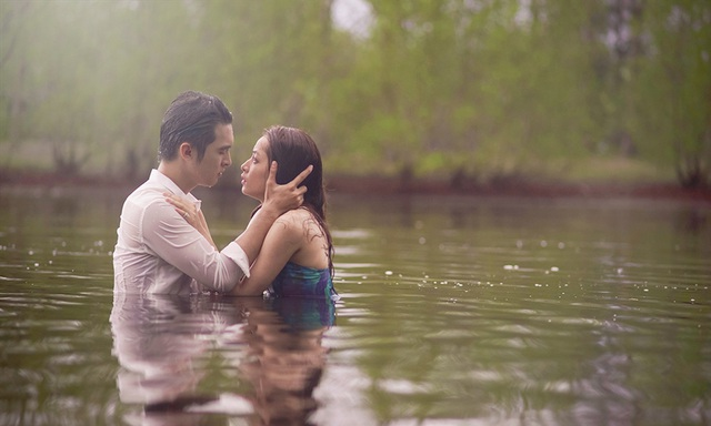 """Những cảnh quay của Chi Pu trong """"Tỉnh giấc tôi thấy mình trong ai""""."""