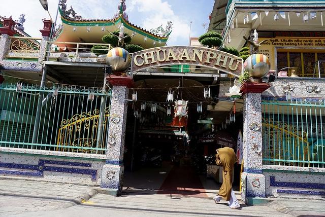 Chùa An Phú, quận 8, TPHCM là 1 trong những ngôi chùa cổ với hơn 150 năm tồn tại.