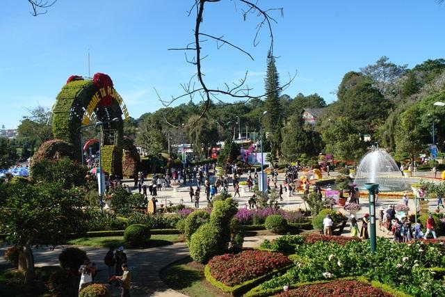 Đà Lạt thu hút một lượng lớn du khách quốc tế đến tham quan và nghỉ dưỡng
