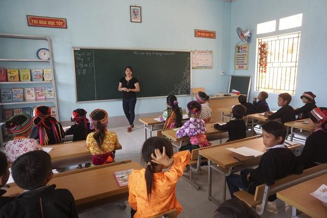 2 phòng học còn lại dành cho bậc tiểu học