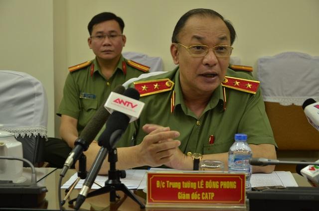 Trung tướng Lê Đông Phong – Giám đốc Công an TPHCM khẳng định, Công an TP không có chủ trương giấu án để giảm tội phạm