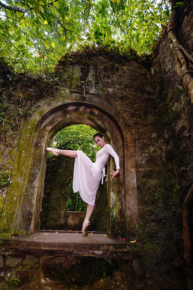 Đắm say điệu vũ ballet của thiếu nữ Hà thành giữa rừng núi Ba Vì - 13