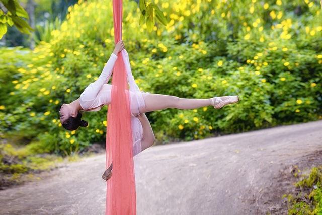 Đắm say điệu vũ ballet của thiếu nữ Hà thành giữa rừng núi Ba Vì - 12