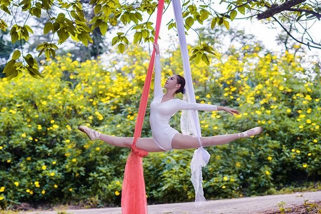 Đắm say điệu vũ ballet của thiếu nữ Hà thành giữa rừng núi Ba Vì - 11
