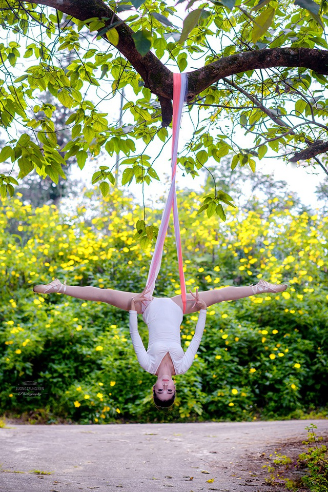 Đắm say điệu vũ ballet của thiếu nữ Hà thành giữa rừng núi Ba Vì - 10