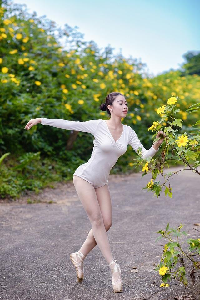 Đắm say điệu vũ ballet của thiếu nữ Hà thành giữa rừng núi Ba Vì - 9