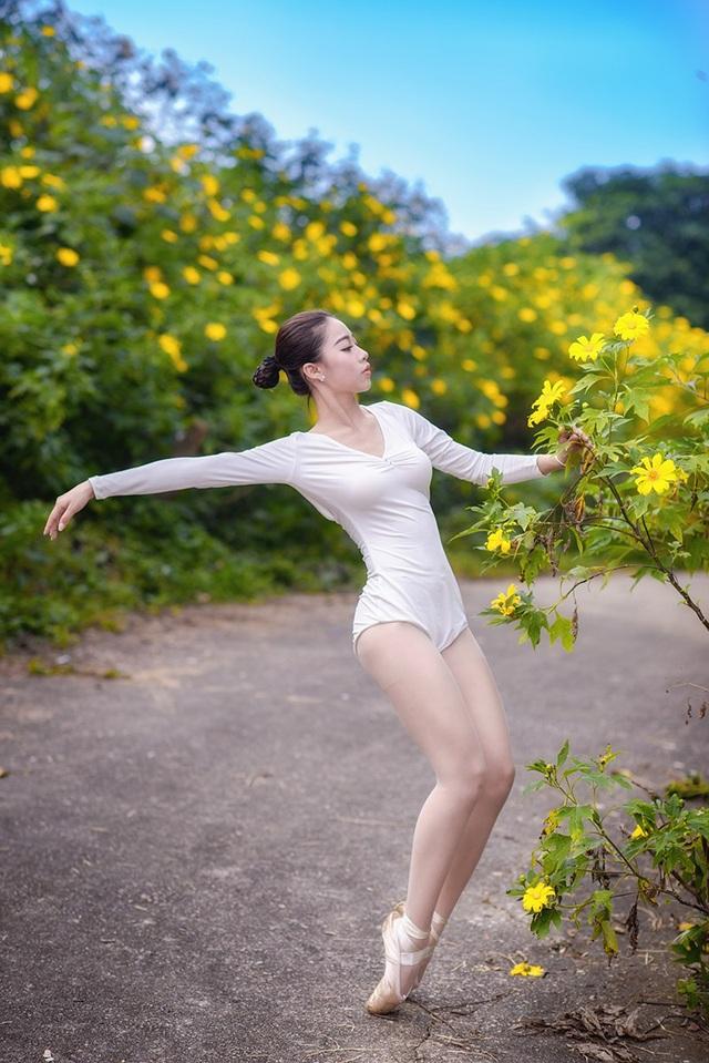 Đắm say điệu vũ ballet của thiếu nữ Hà thành giữa rừng núi Ba Vì - 8