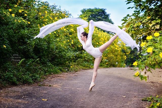 Đắm say điệu vũ ballet của thiếu nữ Hà thành giữa rừng núi Ba Vì - 7