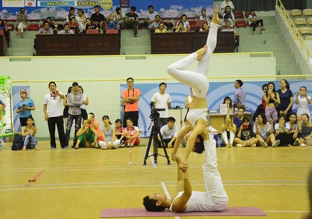 Cặp đôi Yoga nổi tiếng đất Hải Phòng vô địch giải Yoga toàn quốc - 5