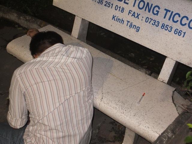 Theo Phó trưởng Công an TP Mỹ Tho Phạm Thế Kim hình ảnh người đàn ông được đăng tải chết tại công viên Tết Mậu Thân từ ngày 23/11