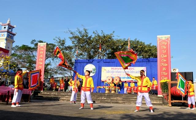 Lễ hội đình làng Hòa Mỹ vừa khai mạc sáng 8/2, nhằm 12 tháng Giêng năm Đinh Dậu