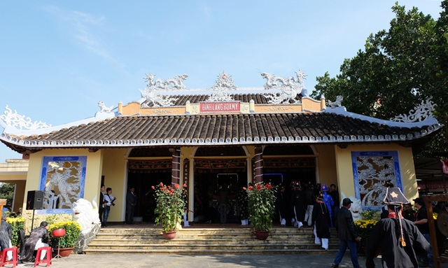 Đình làng Hòa Mỹ ở ngôi làng có từ thời vua Minh Mạng năm thứ 5, cách đây hơn 400 năm