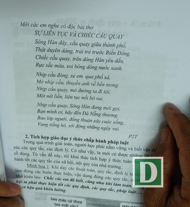 Thầy cô còn sáng tác thơ đưa vào giáo án bài giảng Toán học