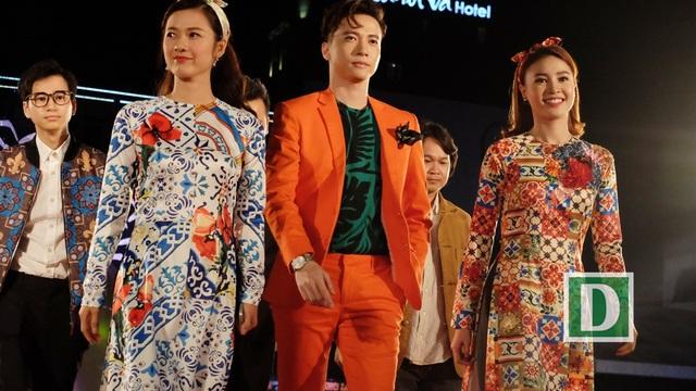 Ninh Dương Lan Ngọc cùng các diễn viên phim Cô Ba Sài Gòn