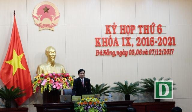 Ông Nguyễn Nho Trung - Phó Chủ tịch HĐND TP Đà Nẵng được phân công chủ trì kỳ họp