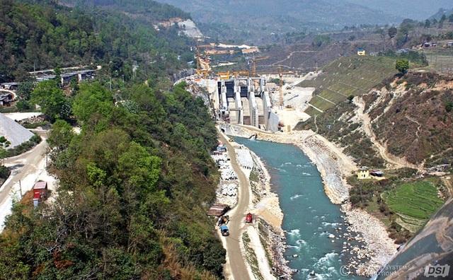 Một đập thủy điện tại Nepal (Ảnh: DSI)
