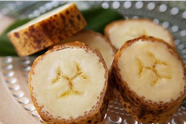 Vỏ chuối ăn ngọt mát và thơm, đặc biệt không có dư lượng chất kích thích