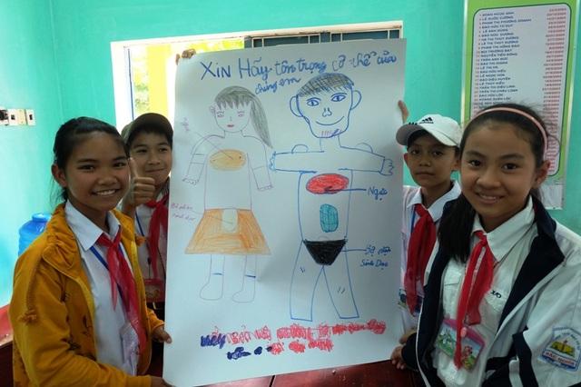"""S Project tổ chức các cuộc thi vẽ tranh """"Giáo dục giới tính: Xin hãy tôn trọng cơ thể của chúng em!"""", thu hút sự tham gia của đông đảo các em học sinh"""