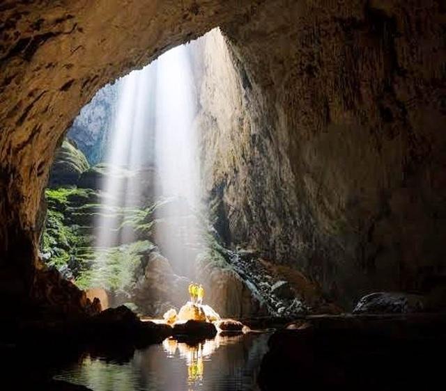 Hang Sơn Đoòng thuộc VQG Phong Nha Kẻ Bàng (Quảng Bình), hang động lớn nhất thế giới (Ảnh: Oxailis)