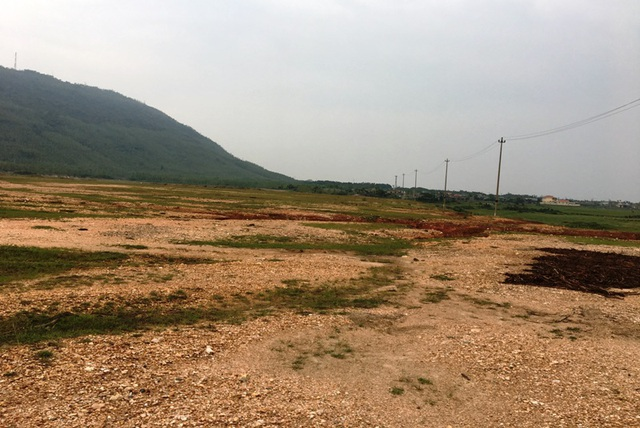 Trong quá trình triển khai dự Nhà máy nhiệt điện Quảng Trạch 1 cũng gặp rất nhiều vướng mắc trong giải phòng mặt bằng