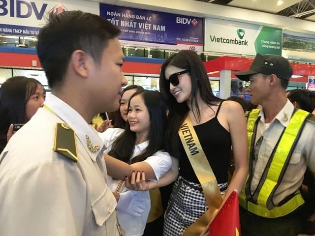 Á hậu Huyền My là đại diện Việt Nam tham dự cuộc thi