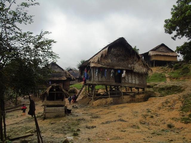 Hình ảnh một góc ở huyện nghèo Minh Hoá, tỉnh Quảng Bình