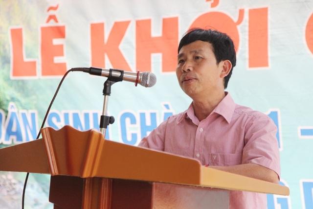 Ông Vi Tân Hợi - Phó Chủ tịch HĐND huyện Tương Dương chia sẻ: Chúng tôi rất cảm ơn Báo Dân trí cũng như các nhà tài trợ đã quan tâm đến những khó khăn của bà con nhân dân huyện Tương Dương nói chung và xã Hữu Khuông nói riêng.