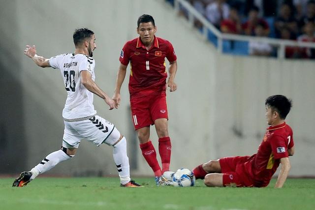 Có thời điểm ở vòng loại Asian Cup 2019, đội tuyển Việt Nam còn có nguy cơ thua cả... Campuchia (ảnh: Gia Hưng)