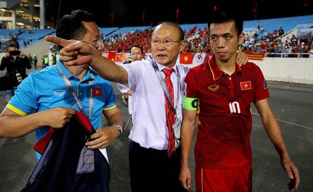 Không phải thử nghiệm nào của HLV Park Hang Seo trong trận đấu với Afghanistan cũng thành công (ảnh: Gia Hưng)
