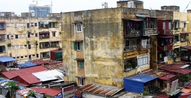 Một khu chung cư cũ trên địa bàn quận Ngô Quyền (ảnh Internet)