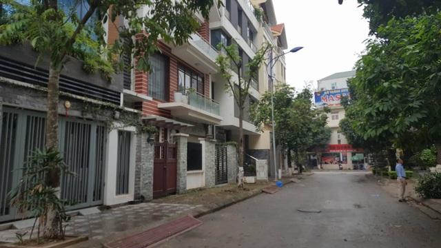 Tại thời điểm thanh tra dự án đã hoàn thiện xong 6 khối nhà chung cư, các căn hộ liền kề, các biệt thự và đã bán hết cho các người mua (Ảnh: H.Q)