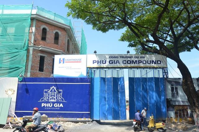 Dự án Phú Gia Compound đang được triển khai
