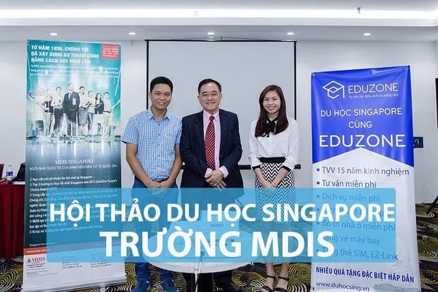 Hội thảo Du học Singapore: Nhận học bổng S$4000 và cơ hội thực tập tại Singapore cùng MDIS - 1