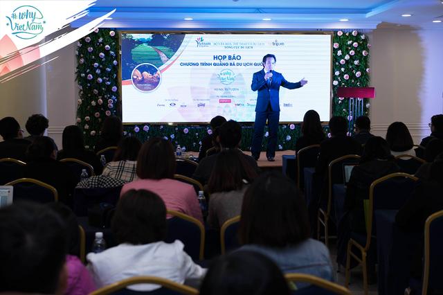 CEO Lê Đắc Lâm – Trong 1 sự kiện quảng bá du lịch của VnTrip.