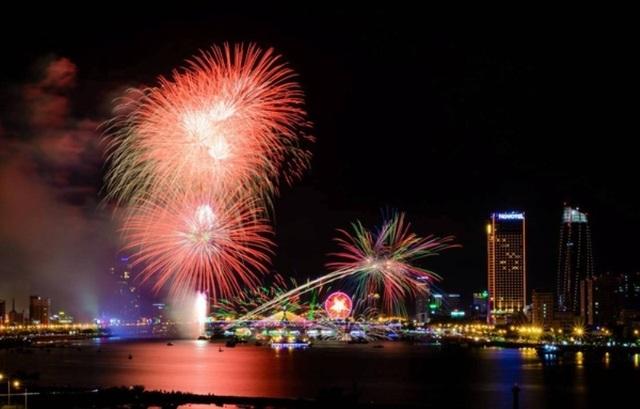 Lễ hội pháo hoa ở Đà Nẵng.