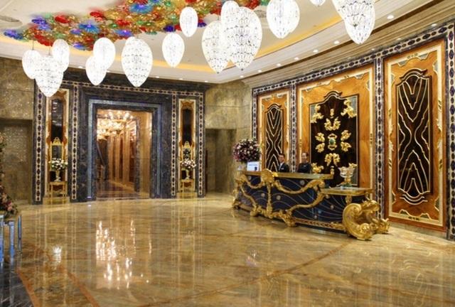 Căn phòng đắt nhất dành cho nguyên thủ quốc gia tại Việt Nam có giá hàng trăm triệu.