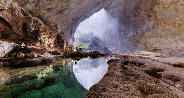 Vẻ hùng vĩ, hoang sơ và huyền bí của hang Sơn Đoòng đã chinh phục được nhiều bạn bè quốc tế.