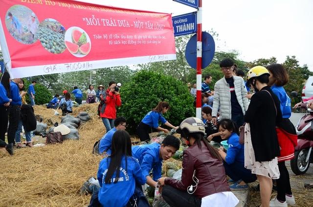 Chương trình dự kiến kéo dài trong một tháng và sẽ giúp nông dân Quảng Ngãi giải cứu khoảng 200 tấn dưa.
