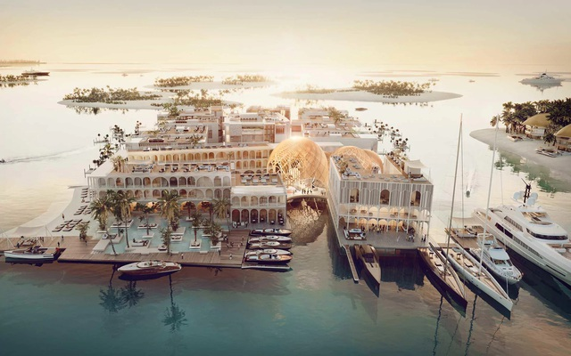 Dubai đang lên kế hoạch xây dựng khu nghỉ dưỡng nổi mô phỏng thành phố Venice nước Ý