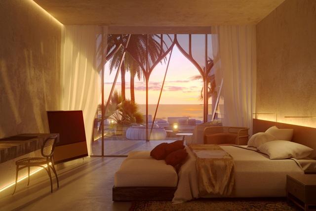 Căn phòng có hướng nhìn về bãi biển