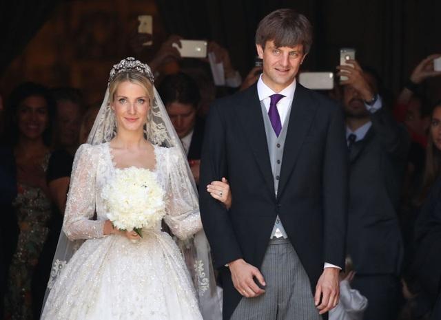 Đám cưới của Hoàng tử Hanover Ernst August và nhà thiết kế thời trang Ekaterina Malysheva đã diễn ra tại Hanover, Đức ngày 8/7.