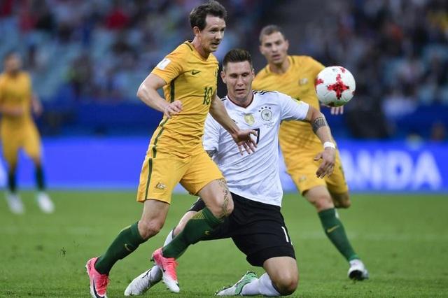 Dù chiến thắng trước Australia nhưng Đức vẫn bộc lộ nhiều hạn chế