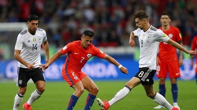 Đức và Chile xứng đáng góp mặt trong trận chung kết Confederations Cup 2017