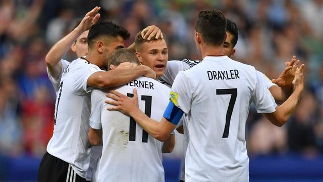 Những cầu thủ trẻ của đội tuyển Đức thi đấu ấn tượng ở Confederations Cup 2017