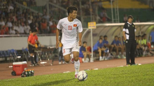 Đức Chinh có thể là mảnh ghép còn thiếu của đội tuyển U22 Việt Nam (ảnh: Trọng Vũ)