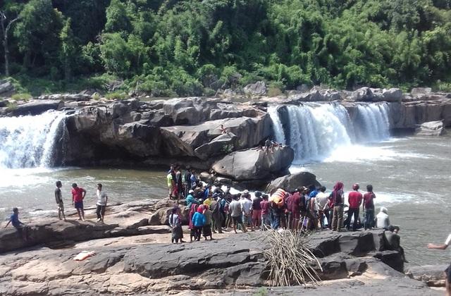 Hiện trường vụ đuối nước khiến 2 nạn nhân tử vong