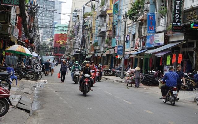 Đường Bùi Viện, phường Phạm Ngũ Lão
