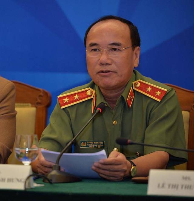 Trung tướng Đoàn Minh Hưng - Phó Tổng cục trưởng Tổng cục An ninh, Bộ Công an