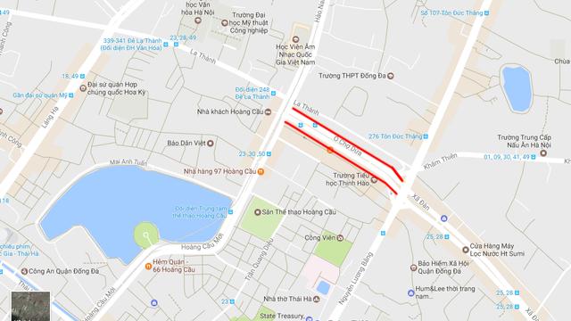 Năm 2013, tuyến đường Ô Chợ Dừa - Hoàng Cầu (Đống Đa, Hà Nội) khánh thành. Tổng mức đầu tư cho đoạn đường dài 547 m là 810 tỷ đồng, tương đương 1,4 tỷ đồng mỗi mét.