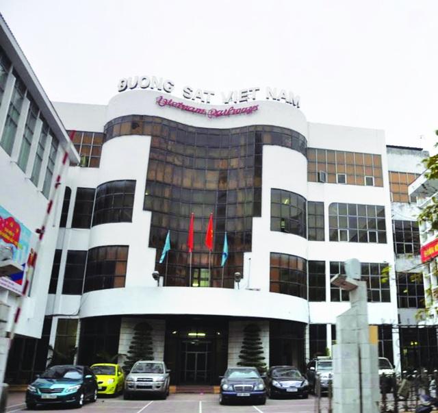 Tổng Công ty ĐSVN có trụ sở tại đường Lê Duẩn, Hà Nội